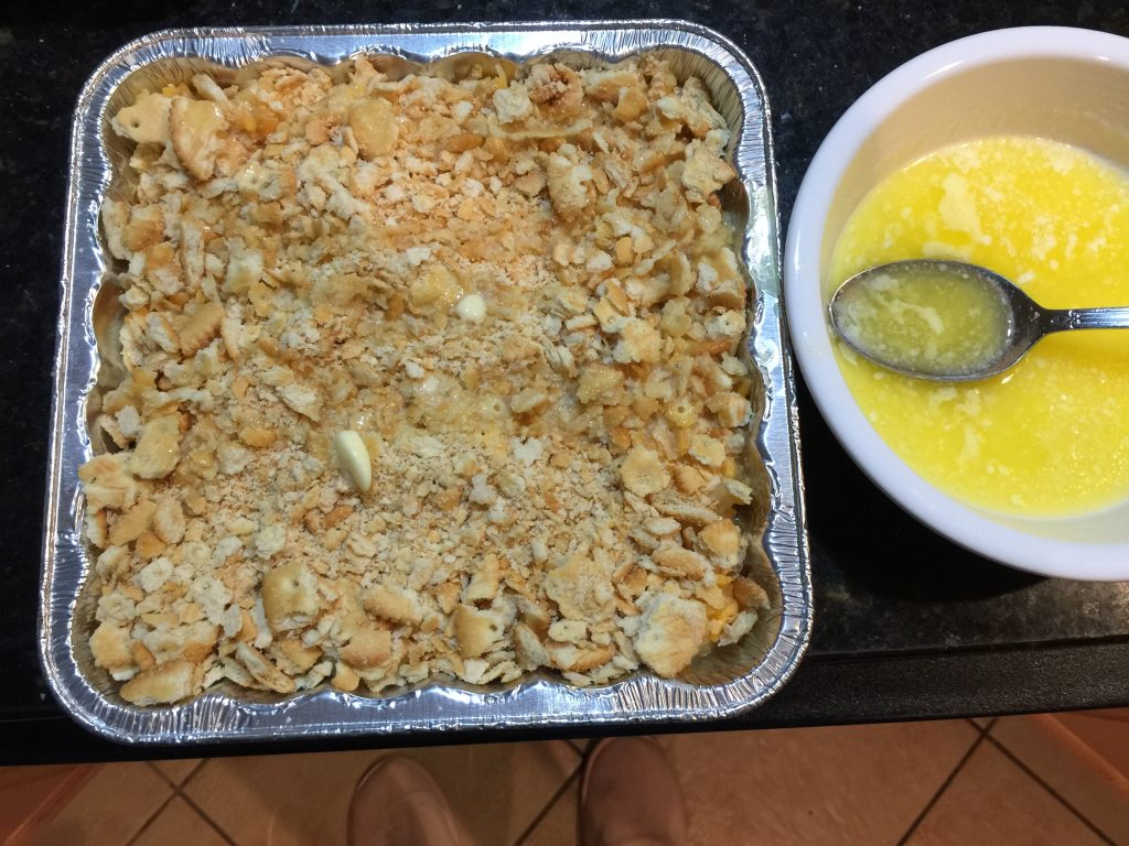 Pineapple Cheese Casserole