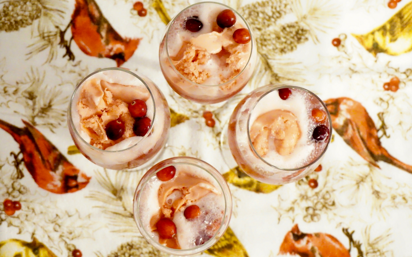 Make Use of Leftover 2-Liters with Champagne Holiday Punch