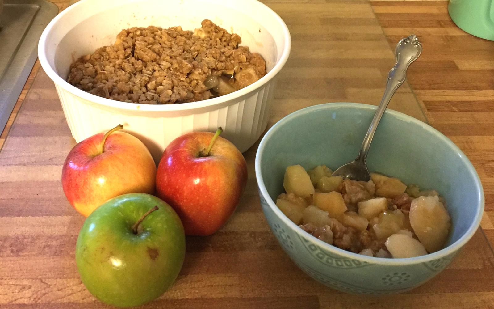 apple crisp fall recipe