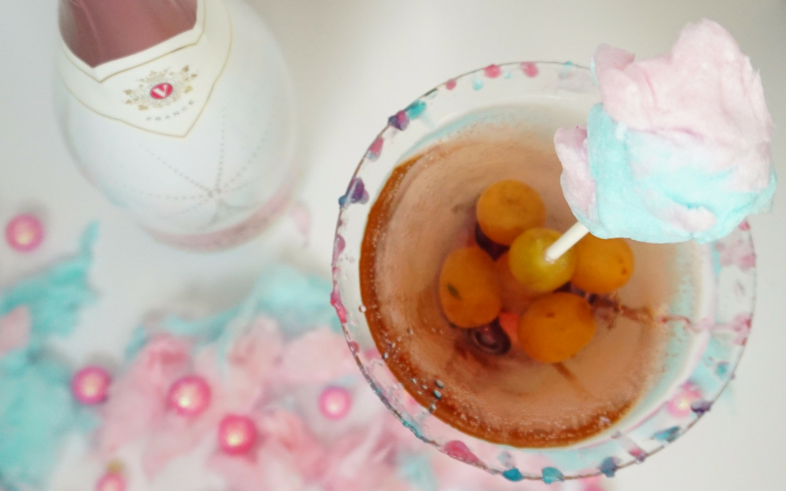 cotton candy sangria