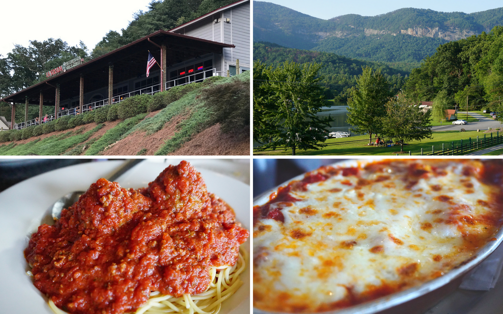 food in the Blue Ridge Mountains