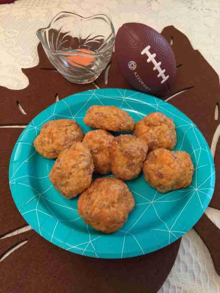 Vegetarian Sausage Balls