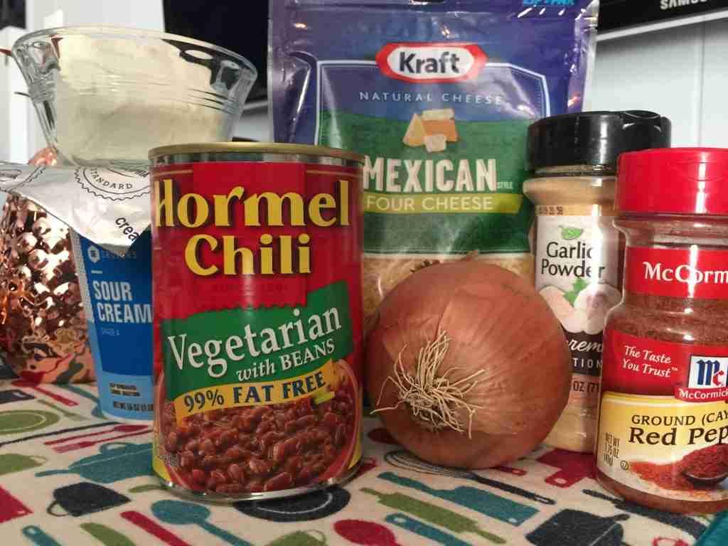 Vegetarian Chili Dip