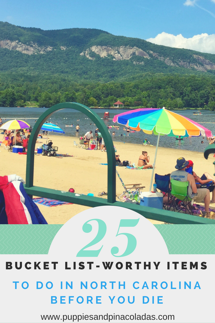 North Carolina Bucket List